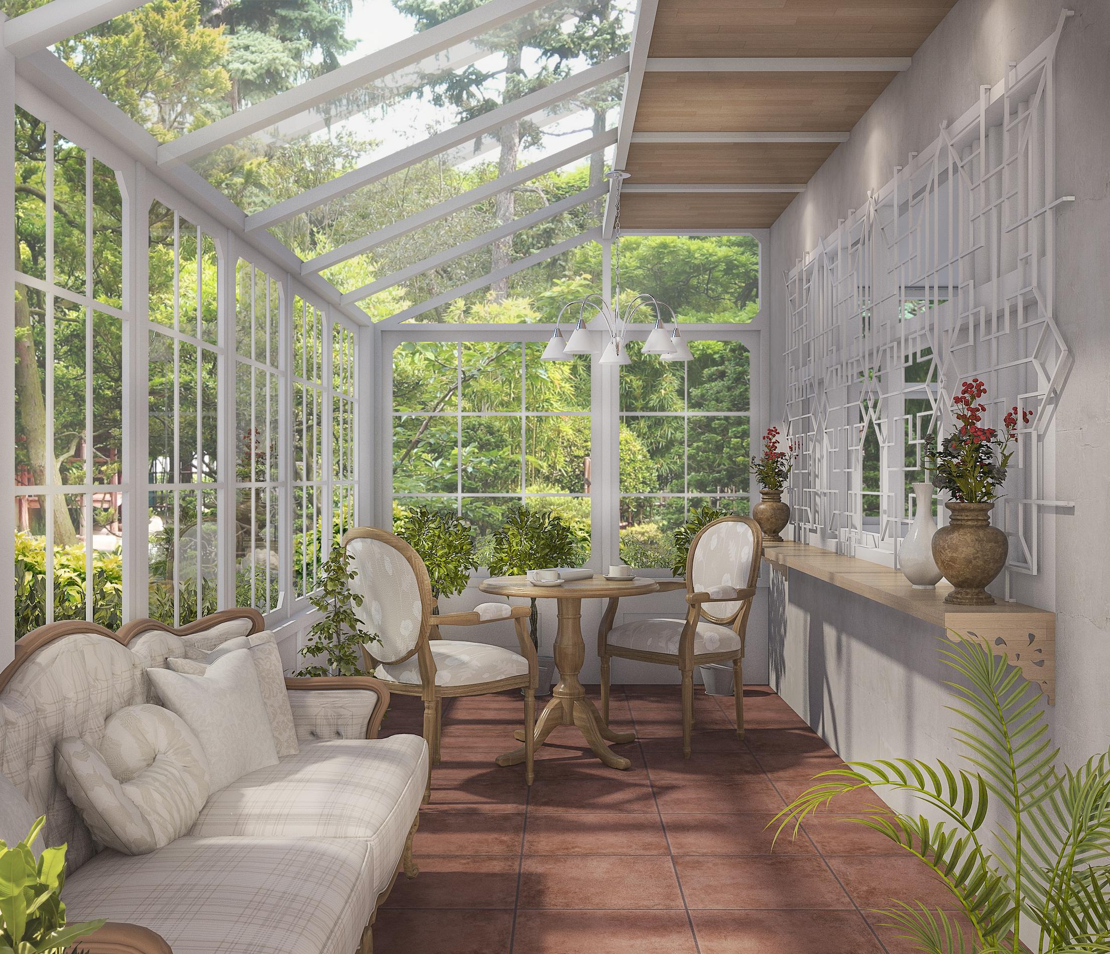 realizzare una veranda in alluminio sprech
