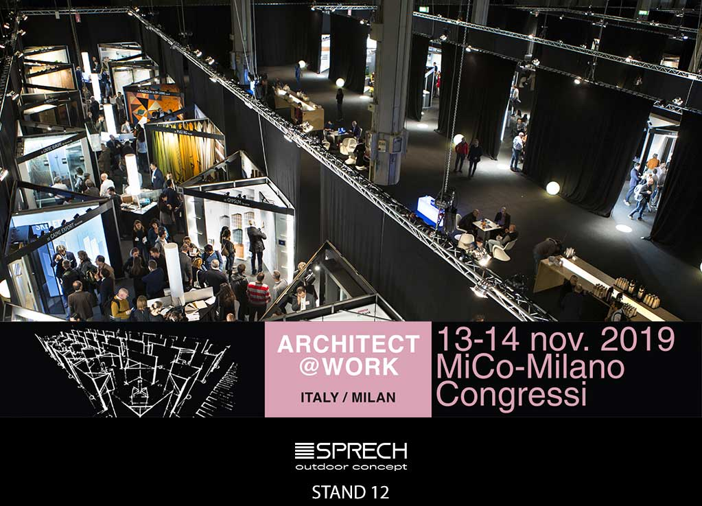 architect at work milano sprech stand 12
