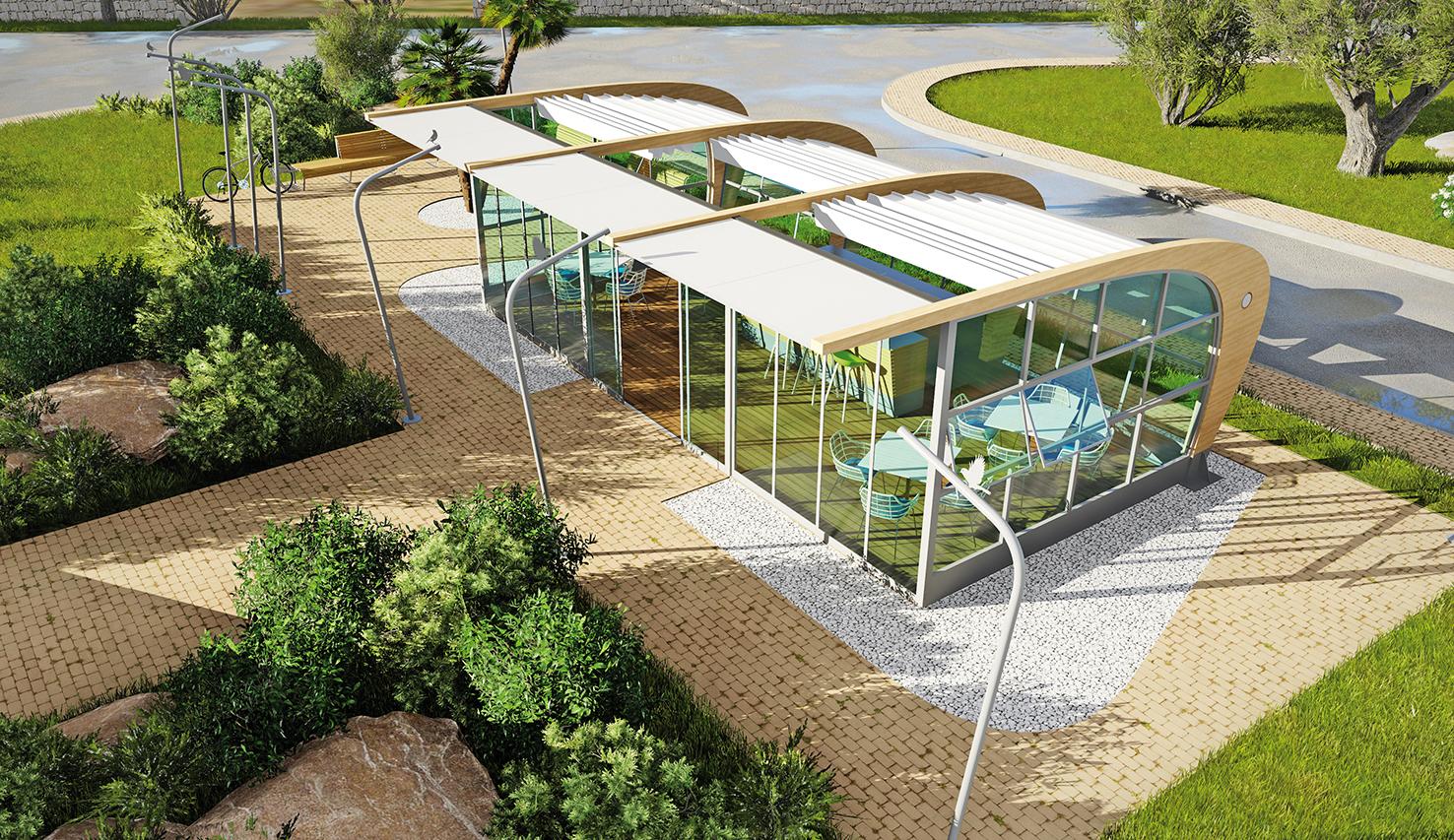 progettazione dell'arredo urbano