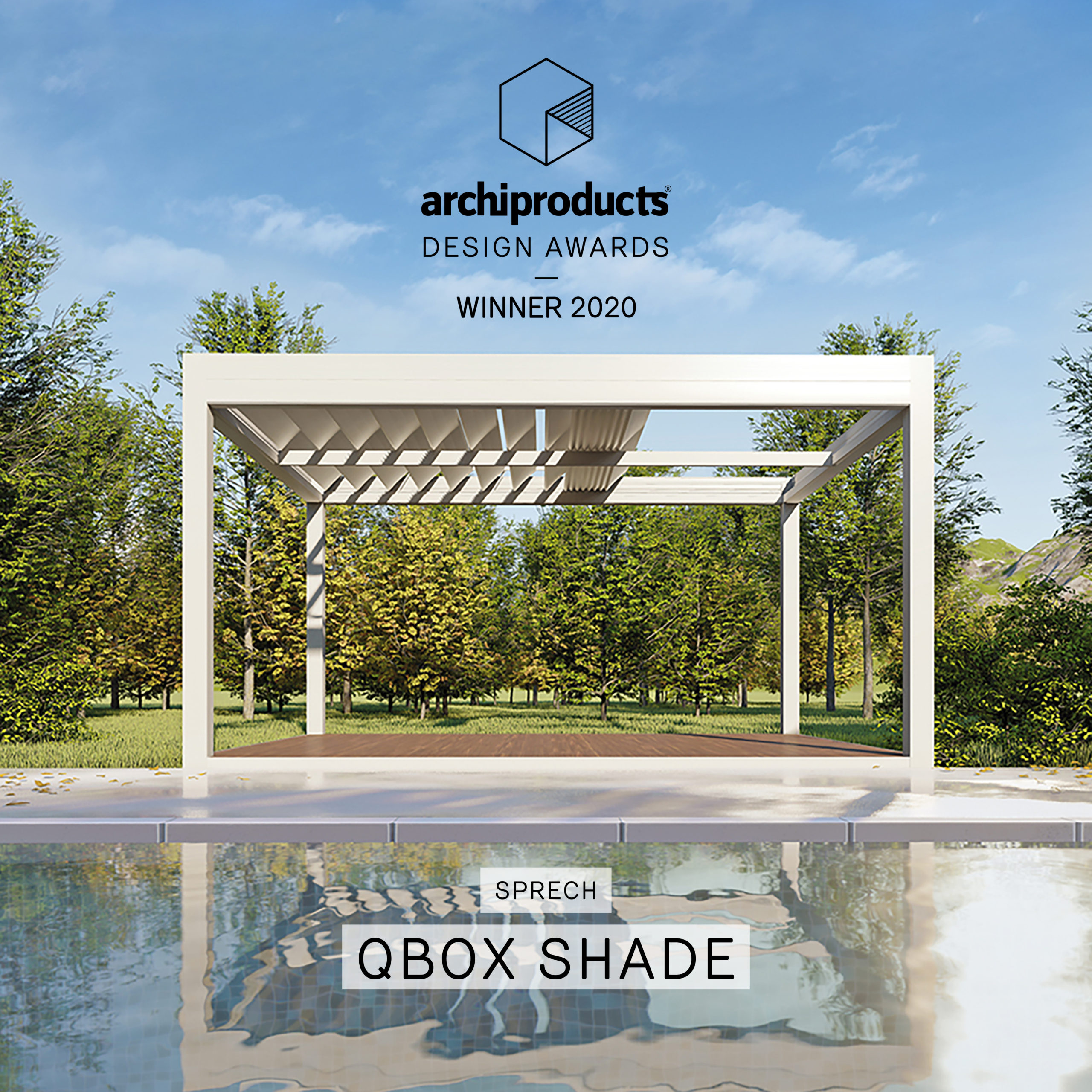 Archiproducts Design Awards 2020 Xbox shade sprech